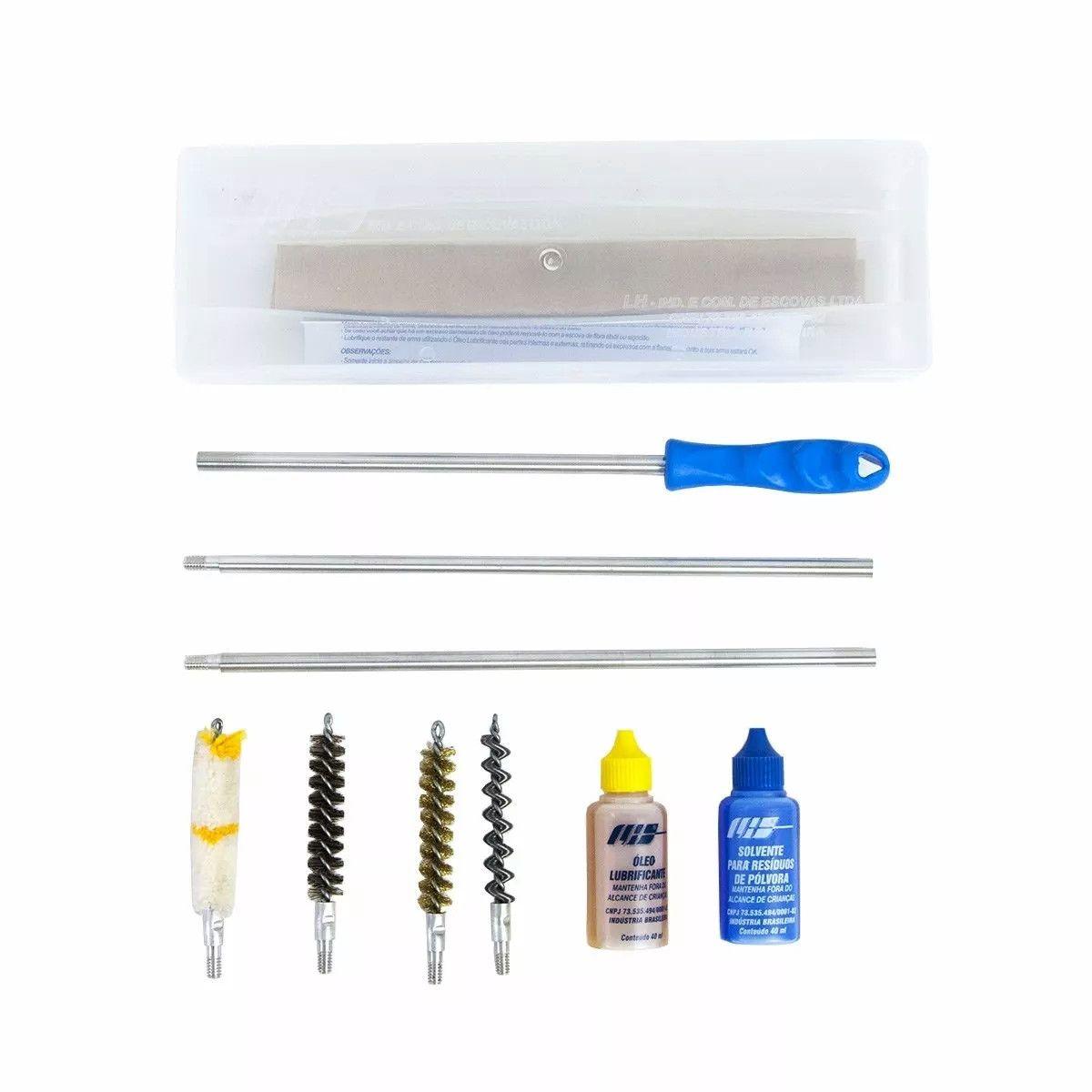 Kit Limpeza LH Caixa Arma Longa - Calibre 36