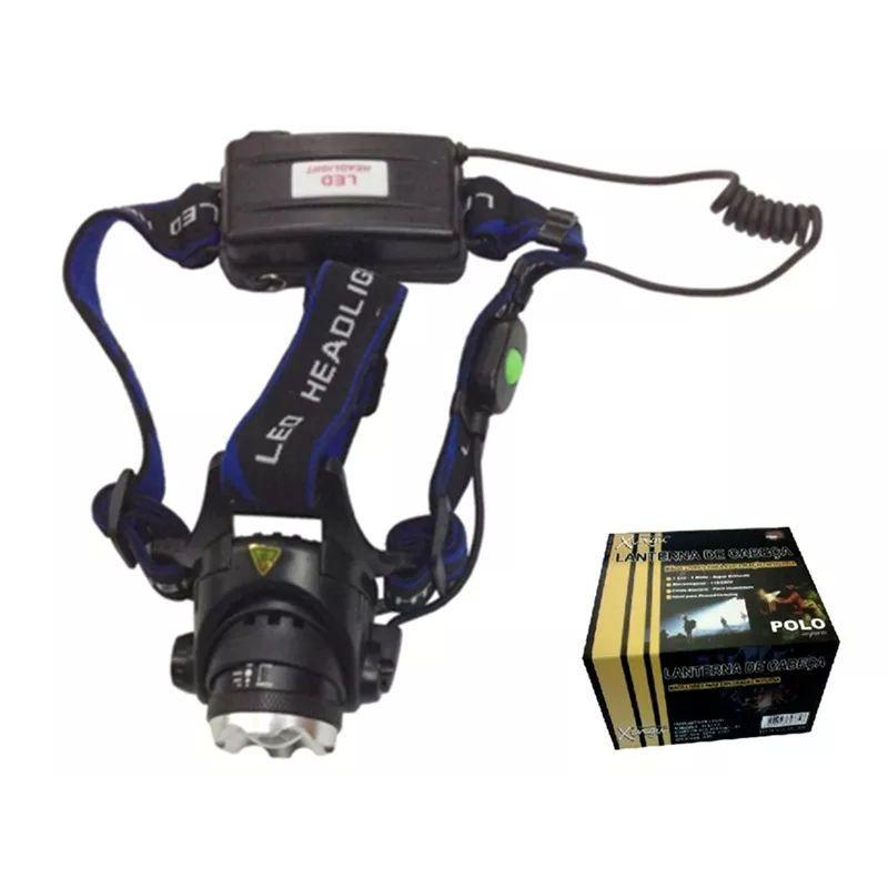 Lanterna Cabeça 1 Led Bivolt 3W XV2531