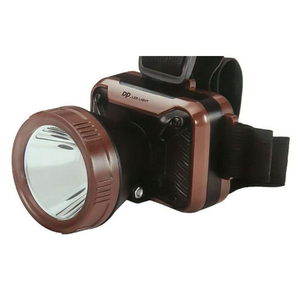 Lanterna de Cabeça Dp-7215 Recarregável