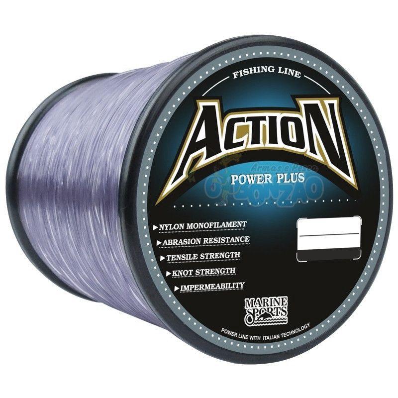 Linha Monofilamento Action 0,37mm 23Lbs 600m - Grey