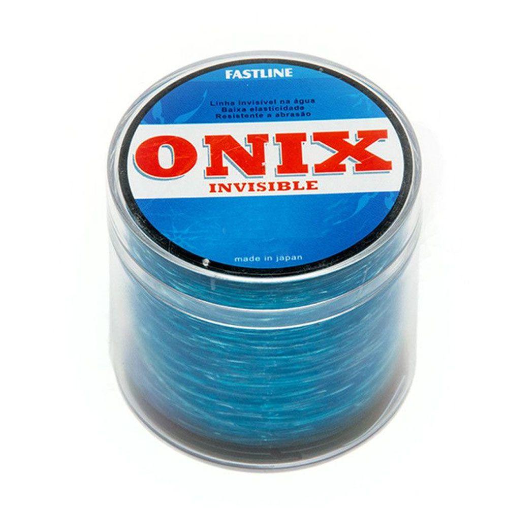 Linha de Pesca Fastline Onix Invisible 0,26mm - 500m