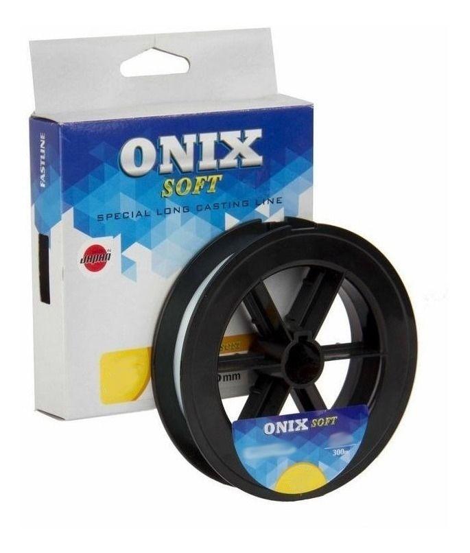 Linha de Pesca Fastline Onix Soft 4 0,330mm 29lb - 300 m