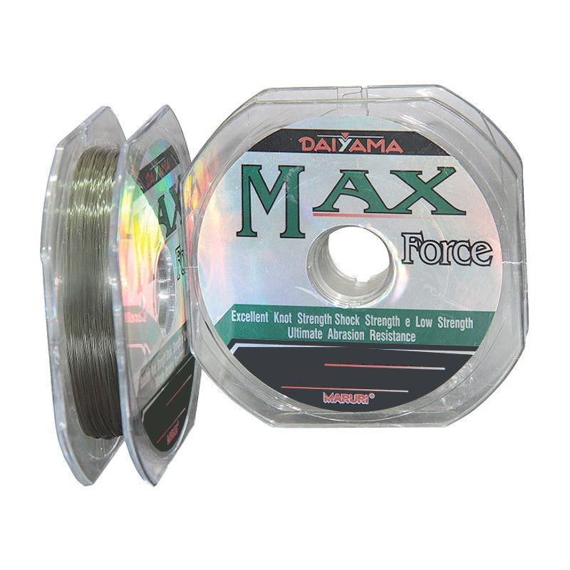 Linha Monofilamento Maruri Max Force 0,66mm 99Lbs 100m