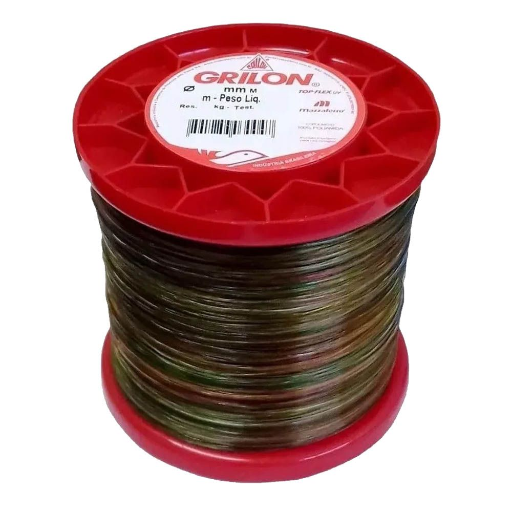 Linha Monofilamento Grilon Multicolor 0,60mm 730m 250g