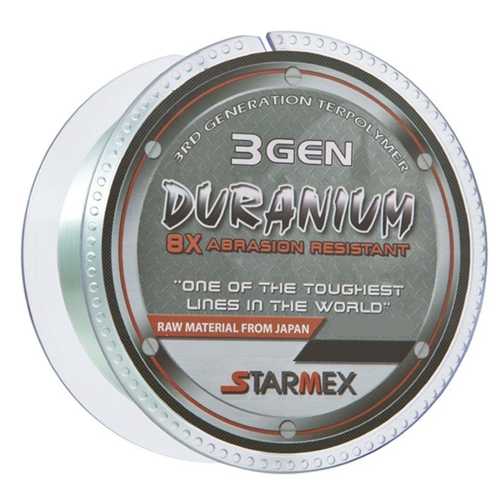 Linha Monofilamento Starmex Duranium 8x 3 GEN 0,22mm 13lb 100m
