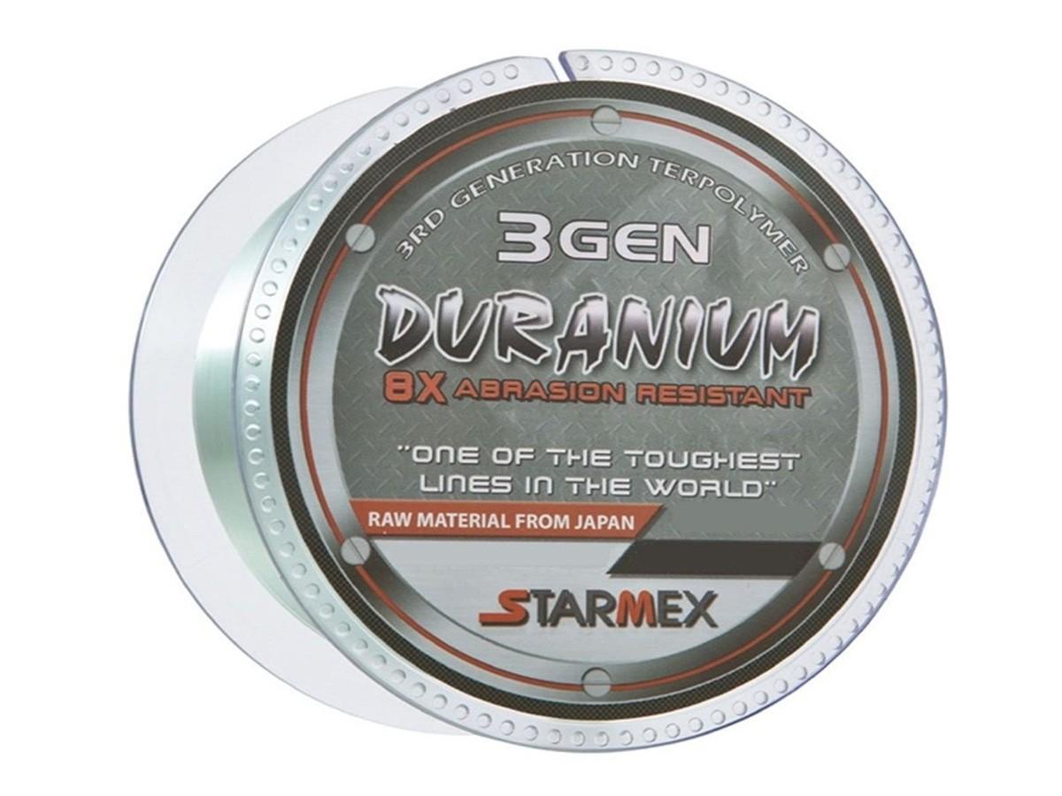 Linha Monofilamento Starmex Duranium/DuraNew 8x 3 GEN 0,18mm 9lb 100m - Verde