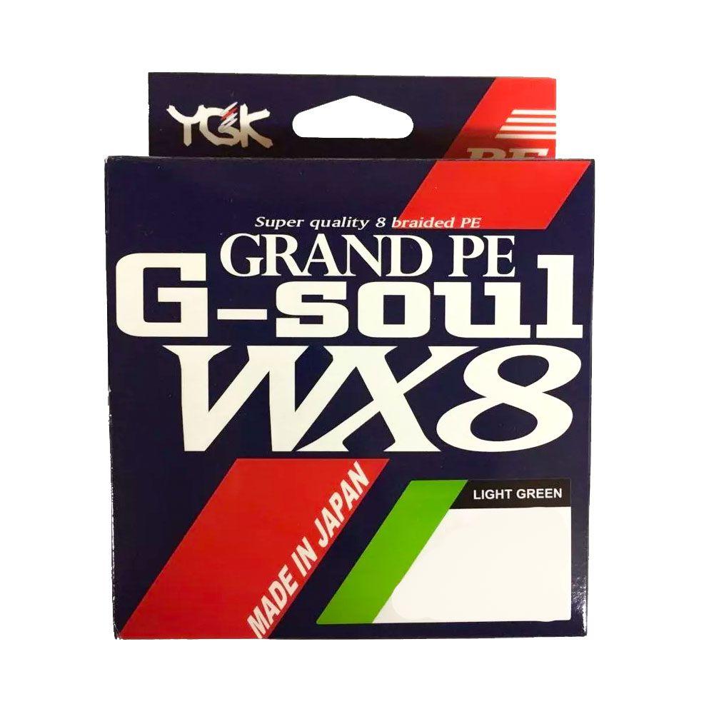 Linha Multifilamento YGK G-soul Grand PE WX8 - 150m