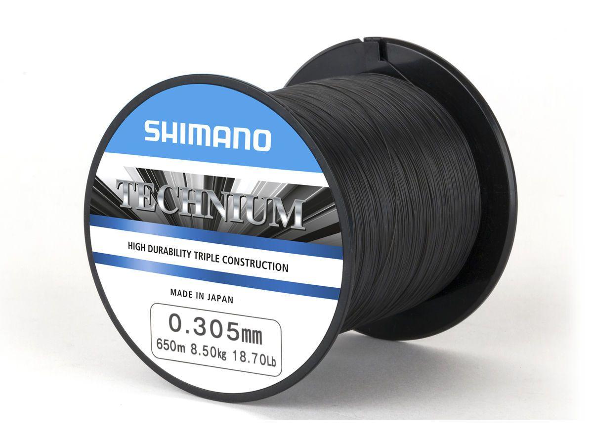Linha Shimano Monofilamento Technium 0,305mm 18,70lb - 300m