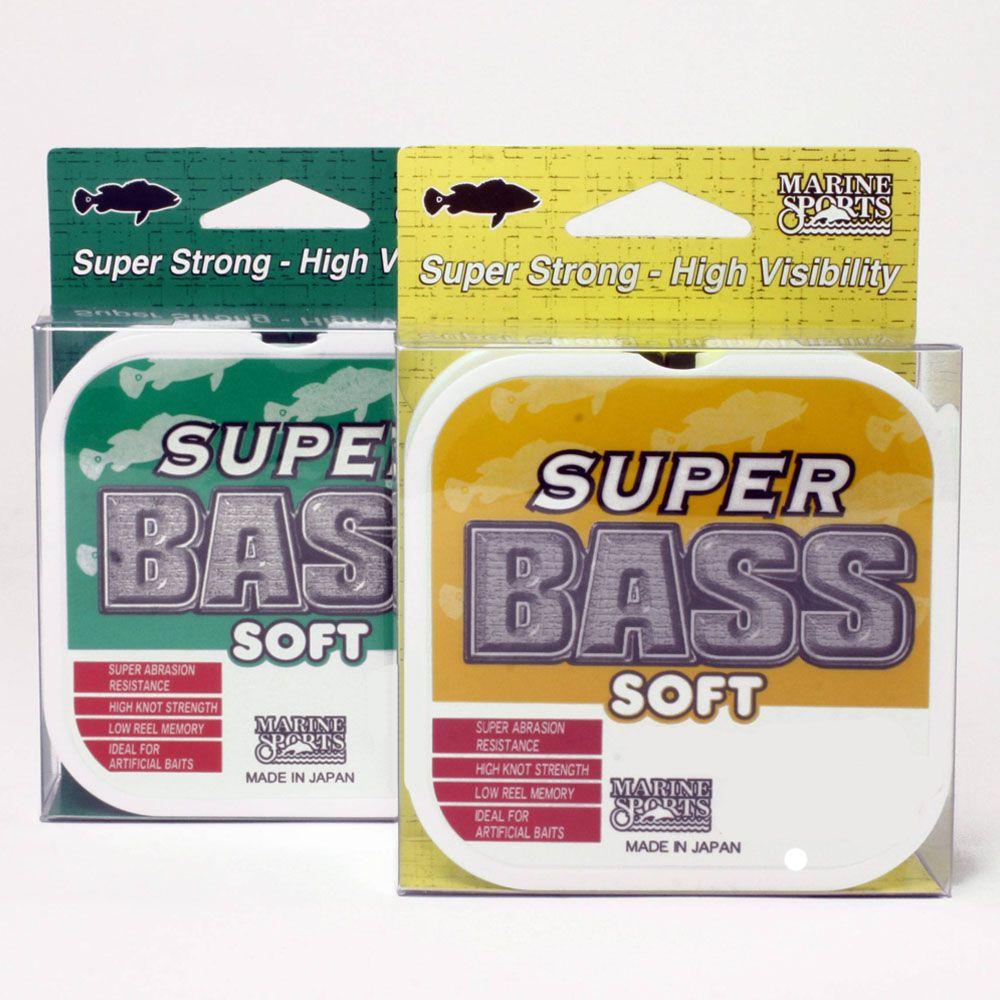 Linha Super Bass Soft Monofilamento 0,37mm 21Lbs - 250 Metros