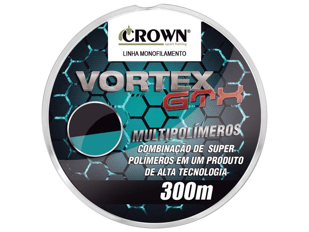Linha Vortex GTX Crown Multipolímeros 2.5 (0,26mm-15lb) 300m