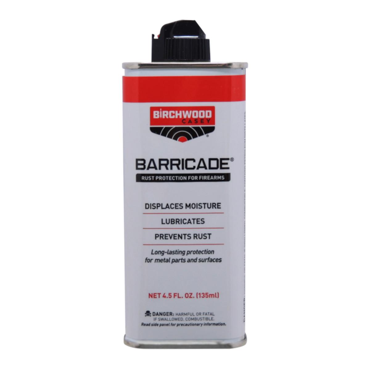Líquido Barricade Proteção Contra Ferrugem 135ml - Birchwood Casey