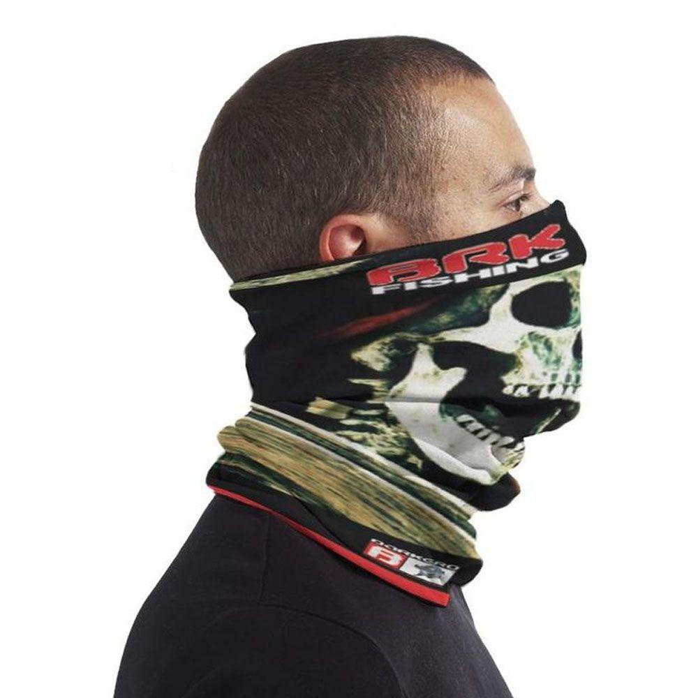 Mascara BRK Fishing Proteção Solar Tube Neck Fpu 50+ - Caveira