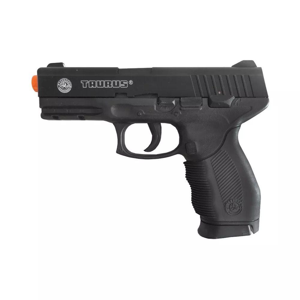 Pistola Airsoft Cyber Gun Taurus Pt24/7 Semi Metal