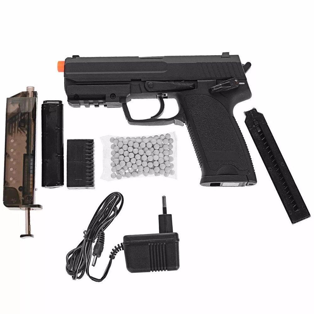 Pistola Airsoft Elétrica Cyma Cm.125 Usp