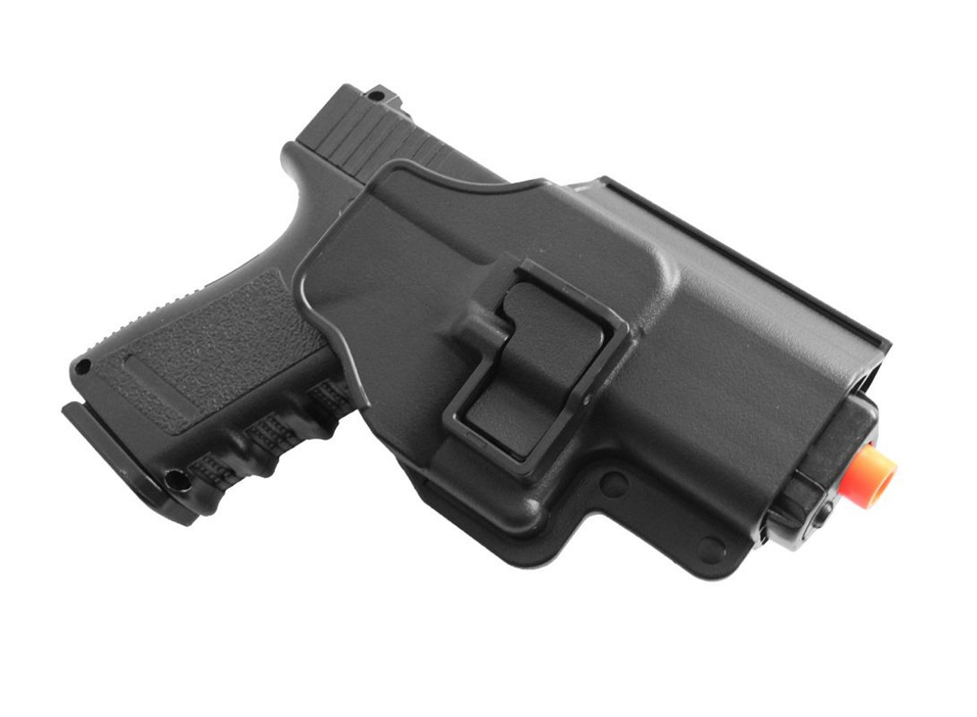 Pistola Airsoft Galaxy G15+ Full Metal Spring com Coldre Rígido