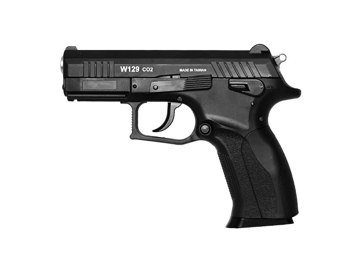 Pistola Airsoft Rossi W129 4,5mm Blow Back - CO2