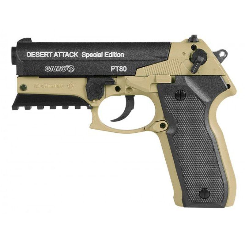 Pistola CO2 Gamo PT-80 Desert Attack Special Edition 4,5mm
