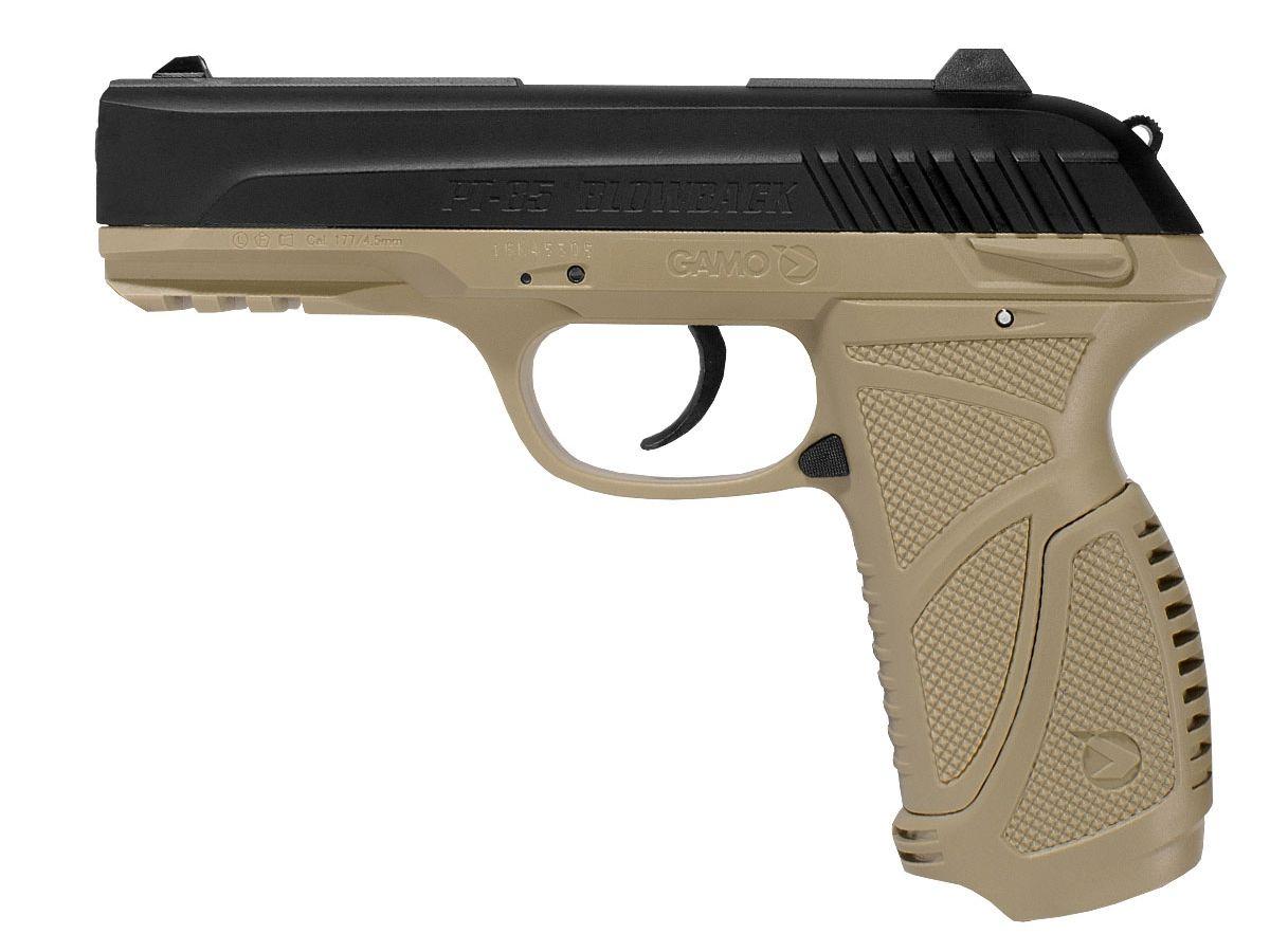 Pistola CO2 Gamo PT-85 Blowback 4,5mm Desert