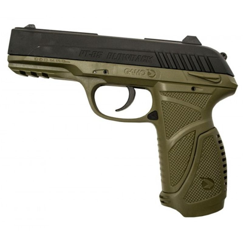 Pistola CO2 Gamo PT-85 Blowback 4,5mm Olive-Black