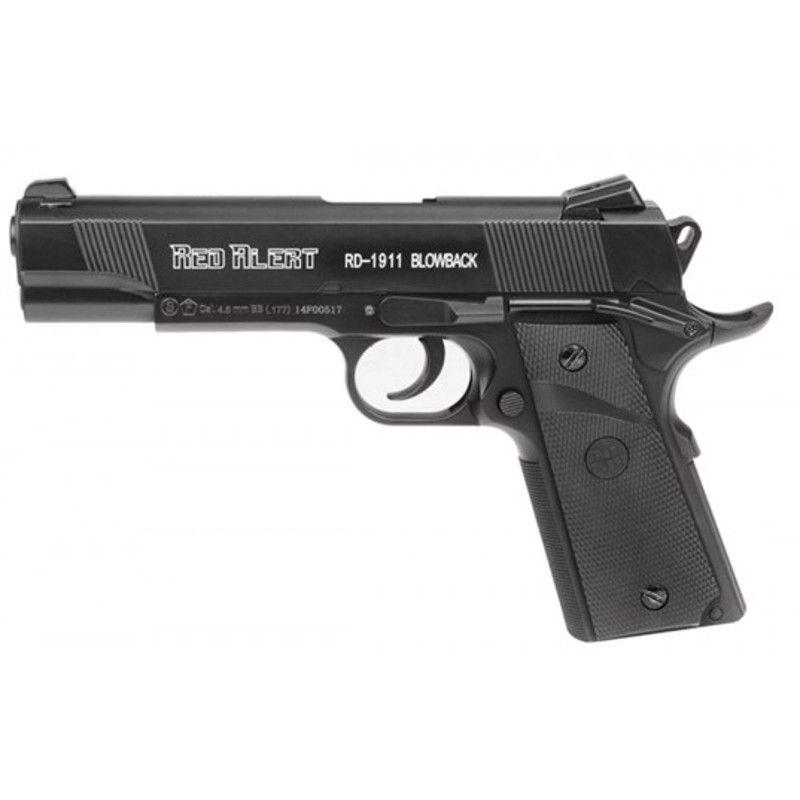 Pistola CO2 Gamo Red Alert RD-1911 4,5mm Blowback