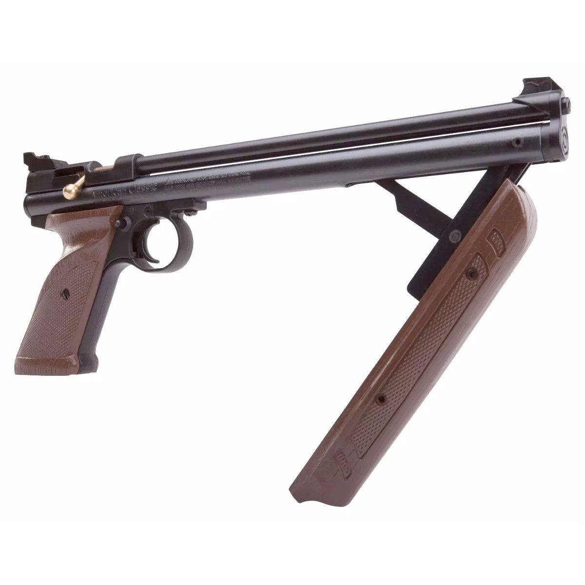 Pistola de Pressão Crosman 1377C American Classic Pistol 4.5mm