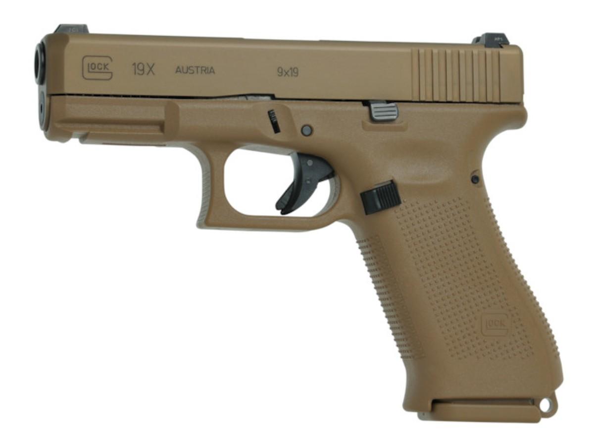 Pistola Glock G19X - Cal. 9 mm - 17 Tiros