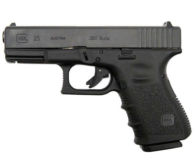 Pistola Glock G25 - Cal. 380 Semi Auto 15+1 Tiros Oxidada