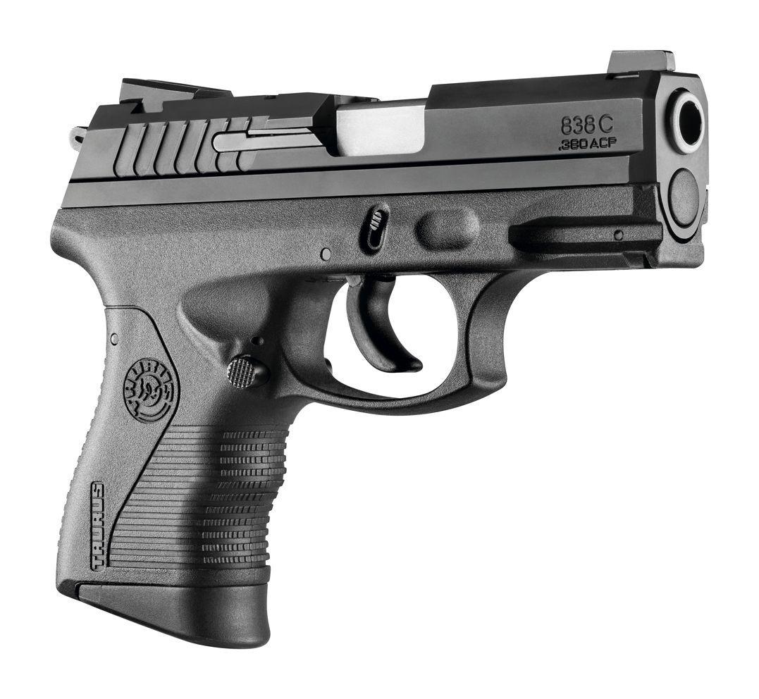 Pistola Taurus PT 838 C - Cal. 380 ACP Oxidada