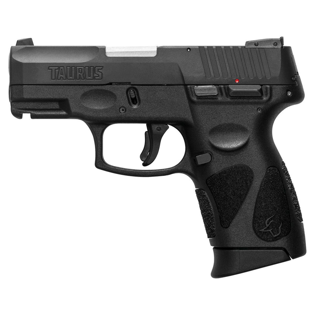 Pistola Taurus G2C - Cal .40 S&W 10+1 Tiros Carbono Fosco