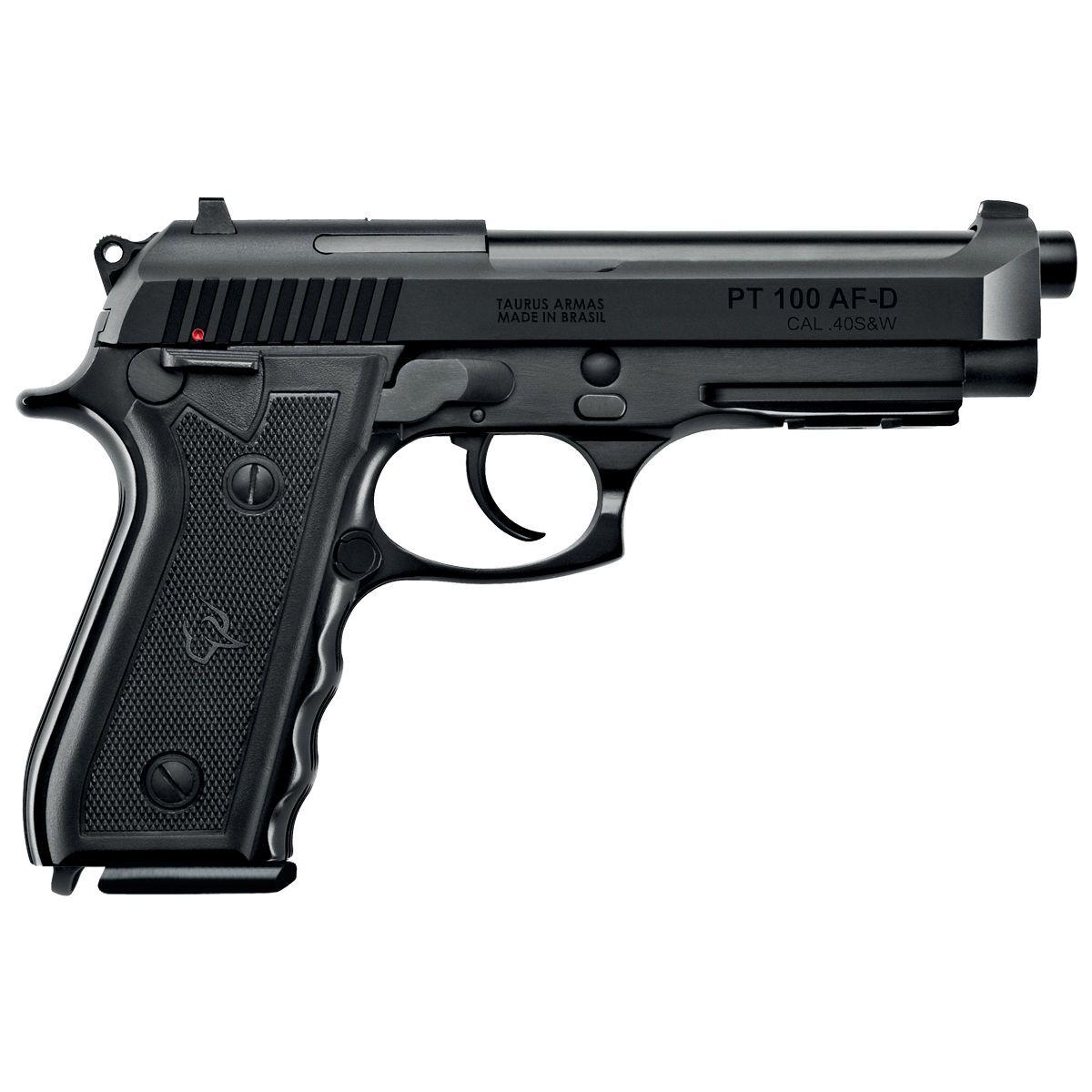 Pistola Taurus PT100 - Cal .40 S&W 13+1 Tiros Carbono Tenox