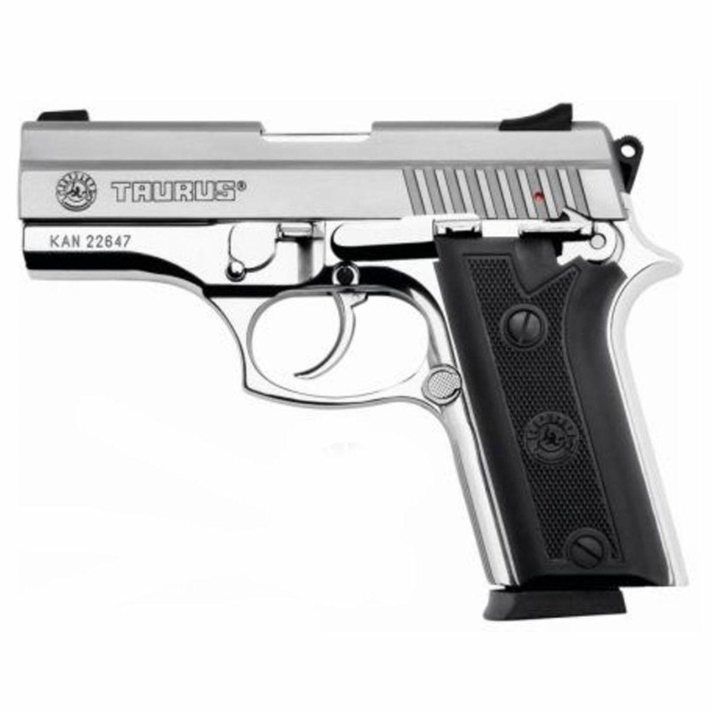 Pistola Taurus PT 938 - Cal. 380 Auto 15+1 Tiros Inox Fosco