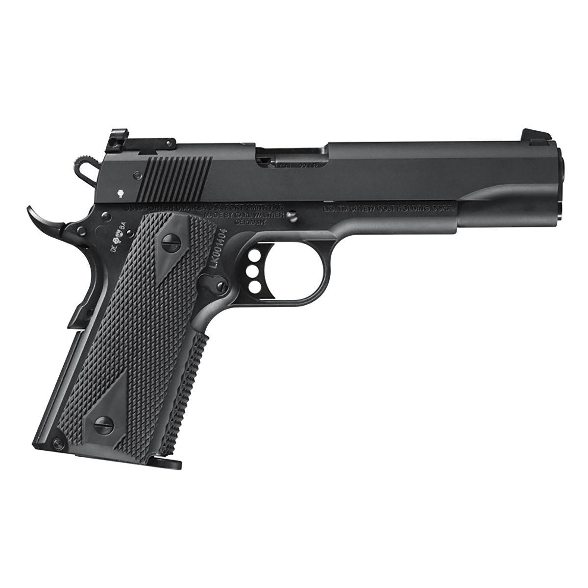 Pistola Walther Colt 1911 Gold Cup Cal. 22 LR 12+1 Tiros Oxidada