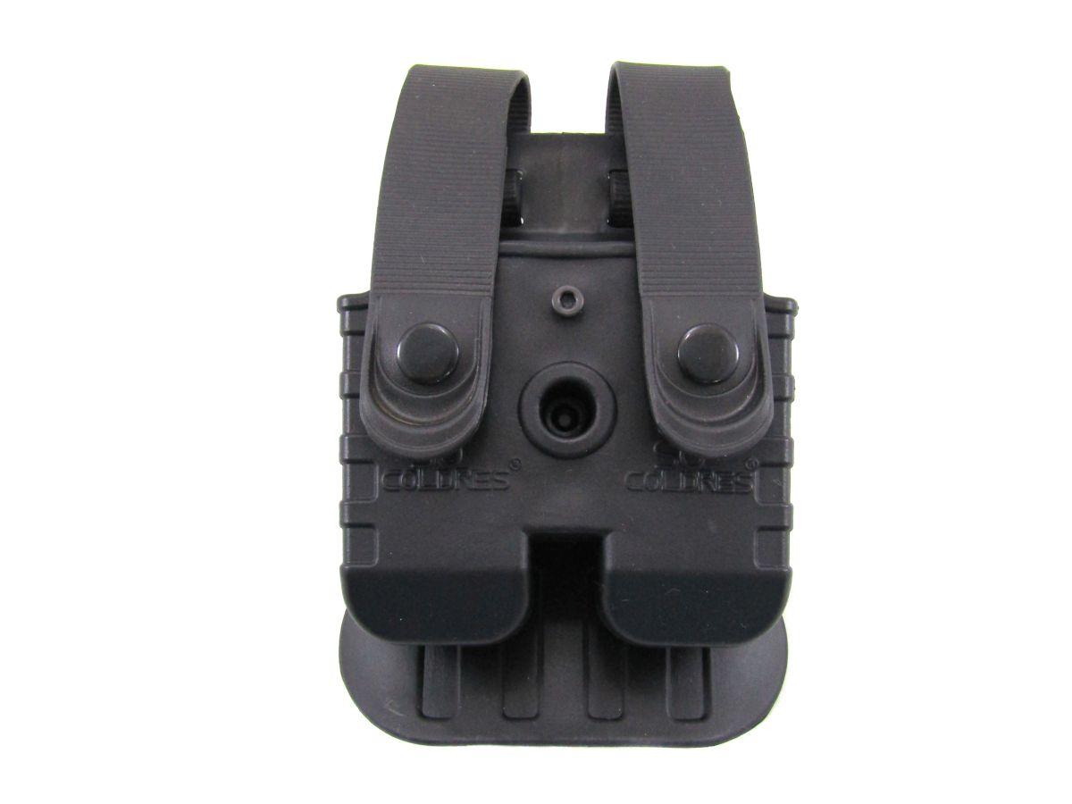 Porta Carregador Duplo Só Coldres P/ Taurus .40, 9mm e .45 (PT 845) - SC026