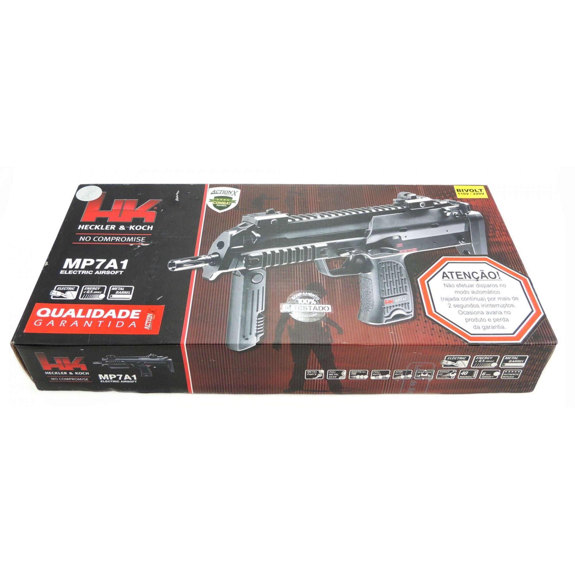Rifle Airsoft Umarex HK MP7 A1 Elétrico AEG