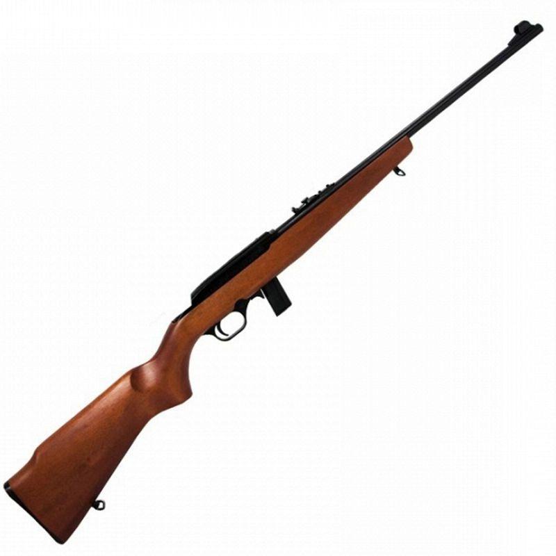 """Rifle CBC 7022 - Cal. 22LR - 10 Tiros - Cano 21"""" - Coronha Madeira - Oxidado"""
