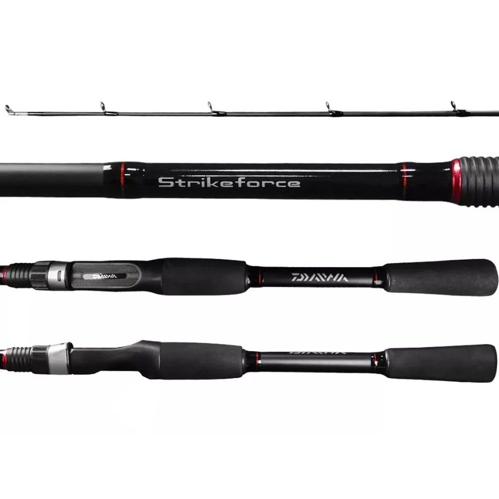 Vara Daiwa Strikeforce 1,83m Molinete 602mhrs 12 - 25lb