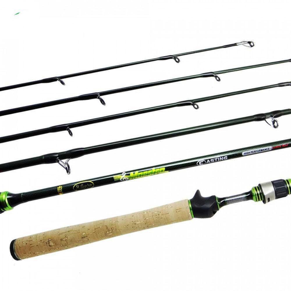 Vara para Carretilha Pesca Brasil Millenium New Maestro 14C  Lbs 1,62m