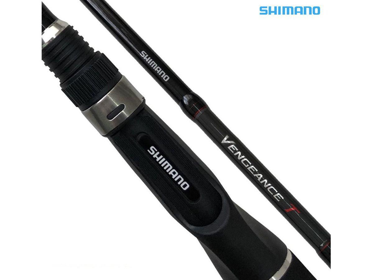 Vara Shimano Vengeance T VENT80XH 20-30Lbs 2,40m - 2 Partes - p/ Carretilha