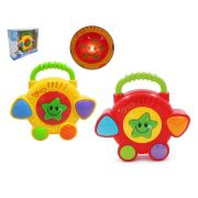 Bateria Musical Infantil Baby Rock Star Colors