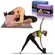 Bloco Tijolo para Exercícios Alongamentos Meditação Yoga Pilates
