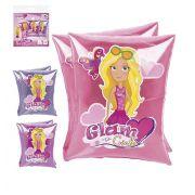 BOIA INFLÁVEL DE BRAÇO INFANTIL GLAM GIRLS 17,5 X 13,5 CM