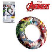 Boia Inflável de Cintura Infantil Vingadores / Avengers 56 cm Ø