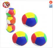 Kit com 3 Bolas Baby Macia Sport Colors 10 cm de Ø