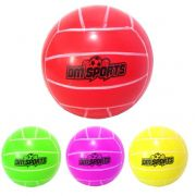 Bola De Volei De Borracha Dm Sports Colors 20cm De 200g