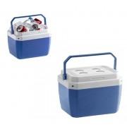 Caixa Plástica Térmica Azul com Capacidade para 17 Litros