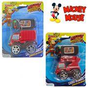 CARRO COM CONTROLE REMOTO COM FIO ROADSTER RACERS A PILHA MICKEY