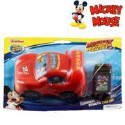 CARRO COM CONTROLE REMOTO COM FIO ROADSTER RACERS MICKEY A PILHA