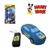 CARRO COM CONTROLE REMOTO COM FIO ROADSTER RACERS MICKEY MOUSE