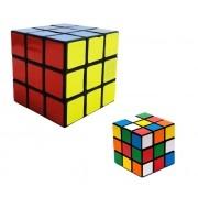 Cubo Mágico Interativo Tradicional 6,5x6,5x6,5cm