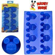 Forma De Silicone Multiuso Com 8 Cavidades Mickey 25ml 19,5X12X3cm